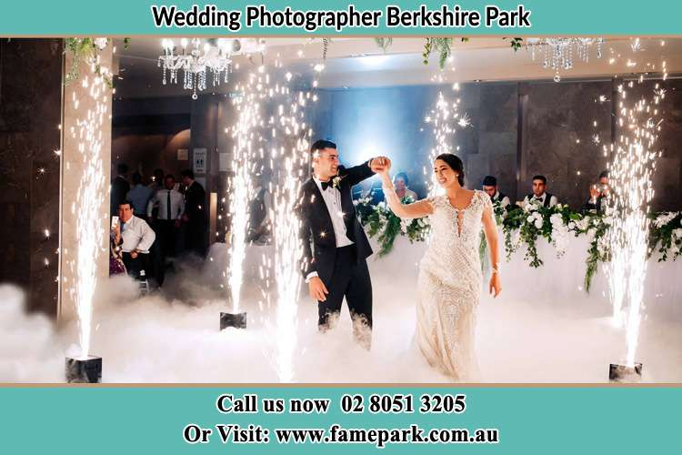 Photo of the Groom and the Bride at the dance floor Berkshire Park NSW 2765