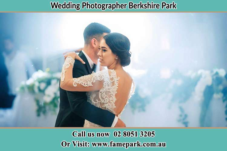 Photo of the Groom and the Bride dancing Berkshire Park NSW 2765