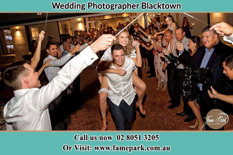 Photo of the Bride horse back ridding to the Groom Blacktown NSW 2148
