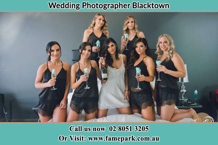 Photo of the Bride and the bridesmaids Blacktown NSW 2148