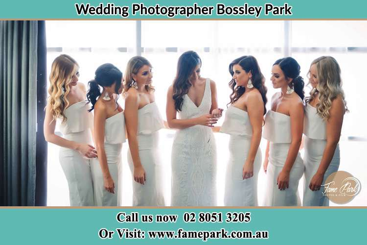 Photo of the Bride and the bridesmaids Bossley Park NSW 2176