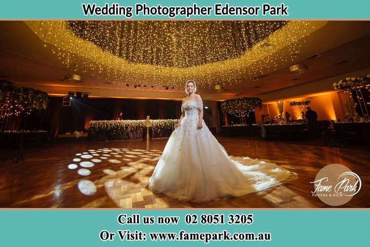 Photo of the Bride on the dance floor Edensor Park NSW 2176
