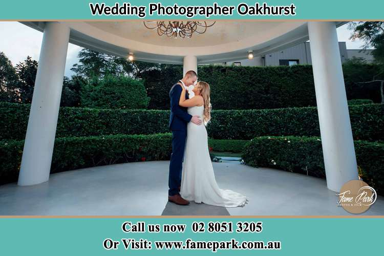 Photo of the Groom and the Bride dancing Oakhurst NSW 2761