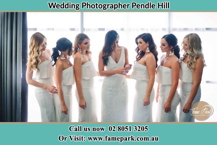Photo of the Bride and the bridesmaids Pendle Hill NSW 2145