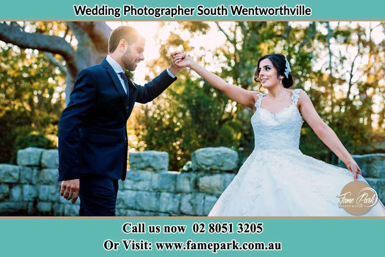 Photo of the Groom and the Bride dancing South Wentworthville NSW 2145