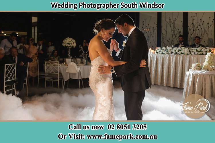 Photo of the Bride and the Groom dancing South Windsor NSW 2756