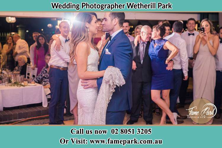 Photo of the Bride and the Groom dancing Wetherill Park NSW 2146